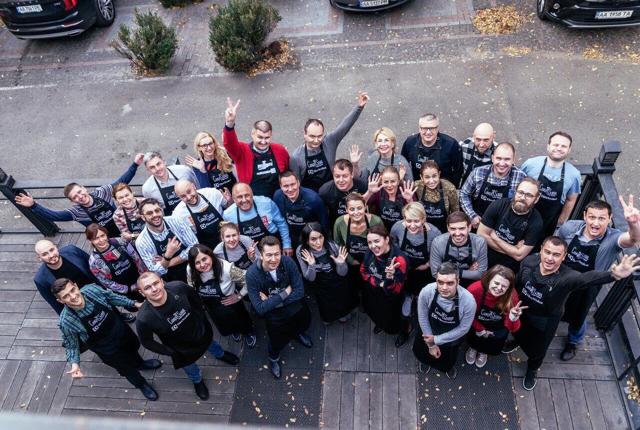 Идеи тимбилдинга в Киеве