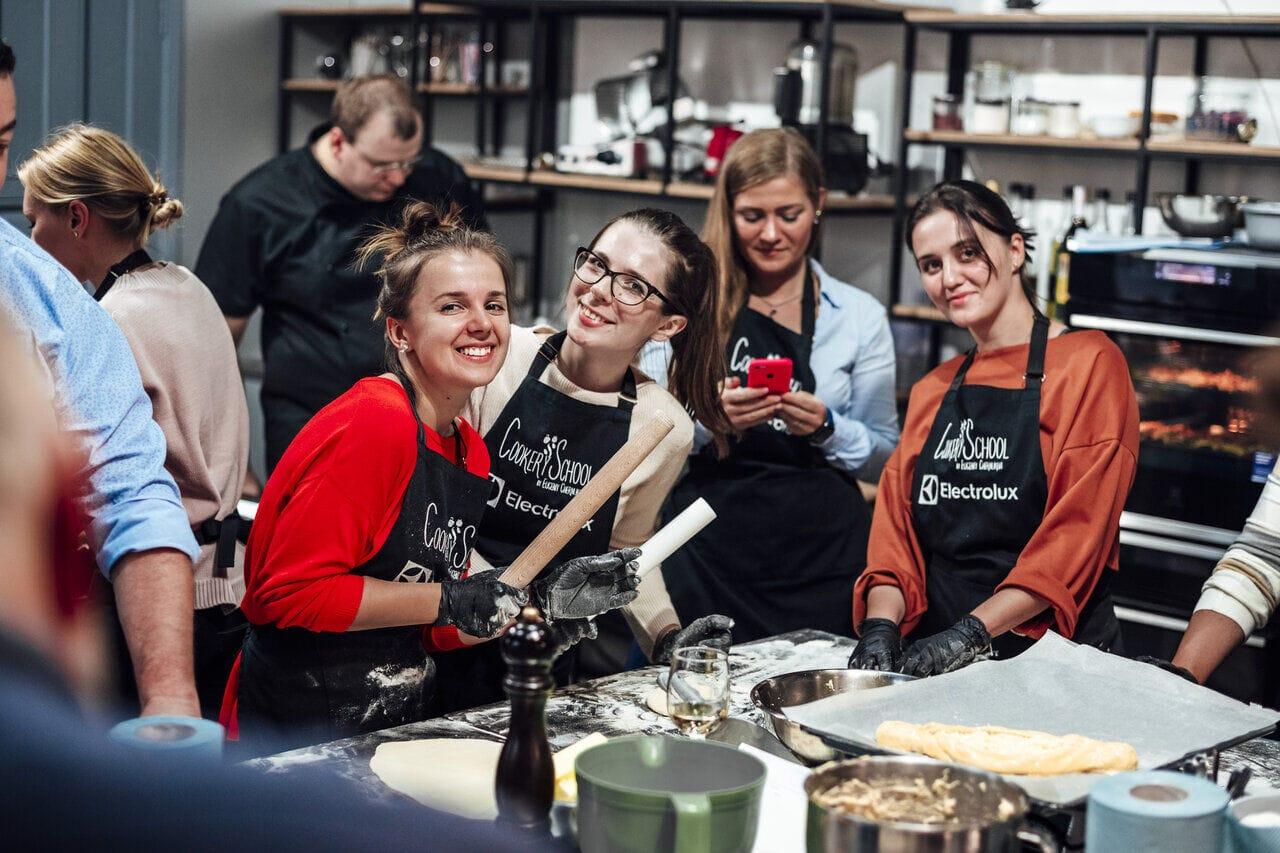 Кулинарные тимбилдинги для компаний