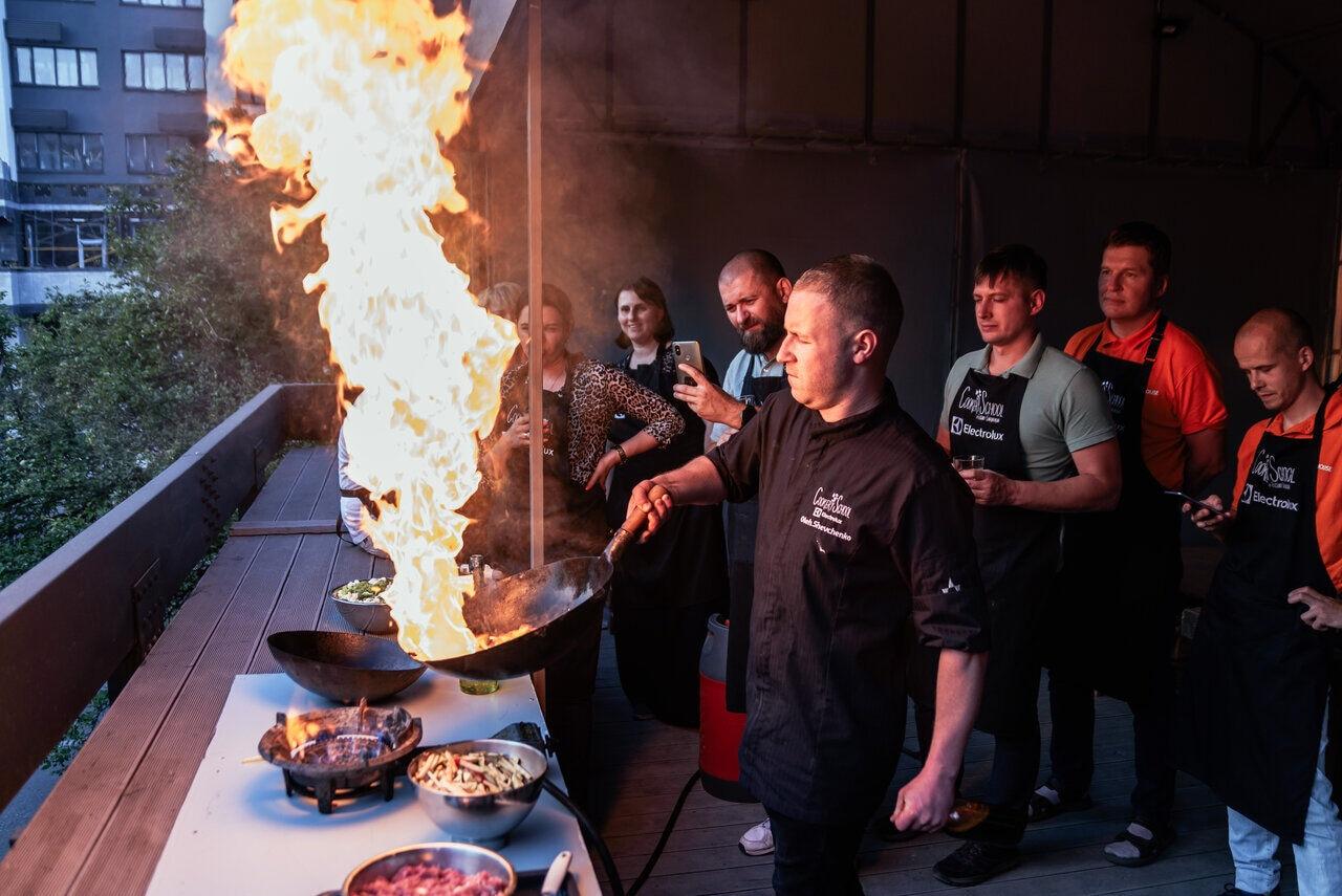 Мастер-класс в кулинарном формате на свежем воздухе